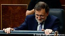 Spanien Mariano Rajoy im Spanischen Kongress in Las Cortes