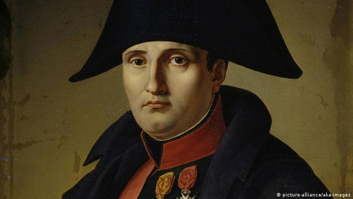 Painting of Napoleon Bonaparte (picture-alliance/aka-images)