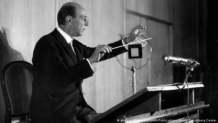 Composer Arnold Schönberg (picture-alliance/dpa/APA Publications Arnold Schönberg Center)