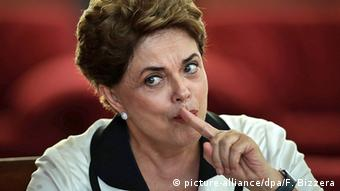 Brasilien Brasilia Dilma Rousseff Rede nach Amtsenthebung