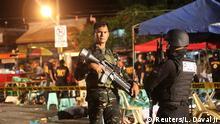 Philippinen Davao Spurensicherung nach Explosion
