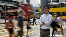 Hong Kong National Party convenor Andy Chan, disqualified by the Hong Kong government to run in the Legislative Council election, poses in Hong Kong, China August 19, 2016. Picture taken August 19, 2016. Reuters/B. Yip