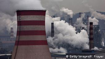 China Emissionen von Kohlendioxid