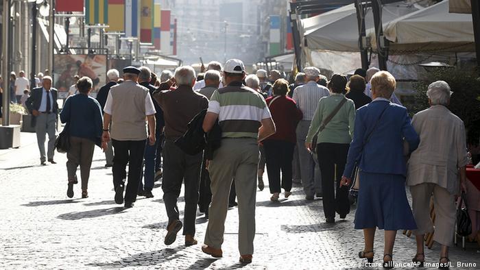 Überalterung in Italien (picture alliance/AP Images/L. Bruno)