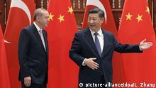 China G20-Gipfel Xi Jinping mit Recep Tayyip Erdogan