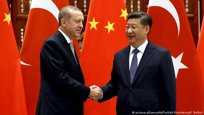 China G20-Gipfel Xi Jinping mit Recep Tayyip Erdogan (picture-alliance/AA/Turkish Presidency/Y. Bulbul)