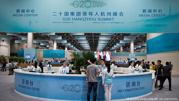 China G20-Gipfel Journalisten