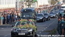 Usbekistan Präsident Islom Karimov Trauerfeier