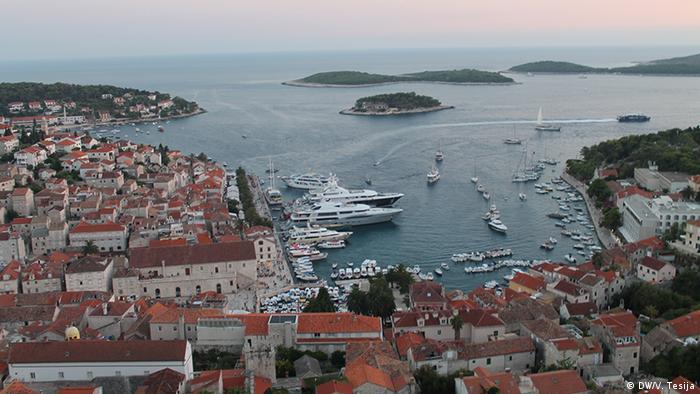 Wybrzeże Dalmacji w Chorwacji
