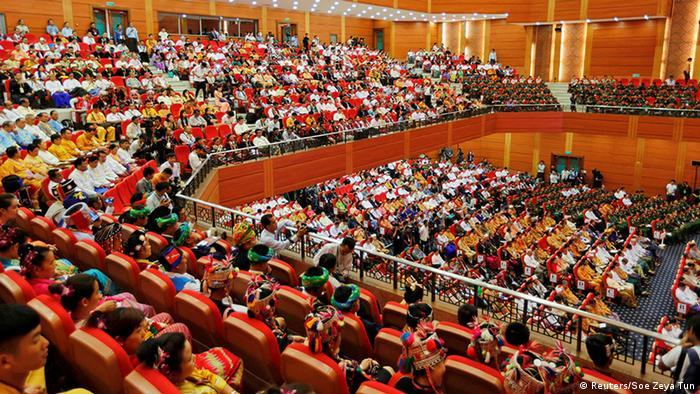Treffen zum Friedensdialog in der Hauptstadt Naypyitaw