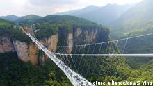 Zhangjiajie Grand Canyon China Glasbrücke