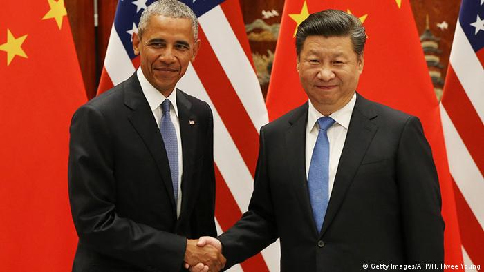 US President Barack Obama and his Chinese counterpart Xi Jingping
