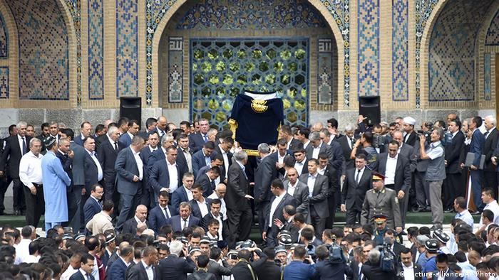 Похороны Ислама Каримова, Самарканд, 3 сентября 2016 г.