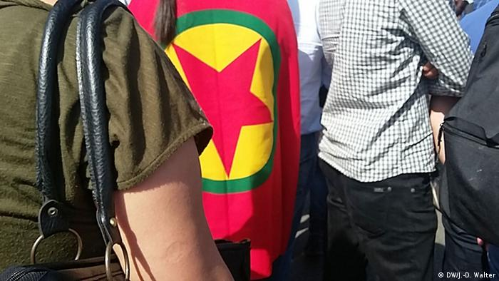 Kurdish demonstration in Cologne