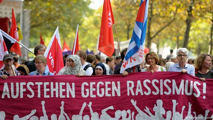 Deutschland Berlin Demonstration gegen Rassismus und Diskriminierung (Reuters/S. Loos)