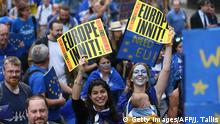 Großbritannien London March for Europe (Getty Images/AFP/J. Tallis)