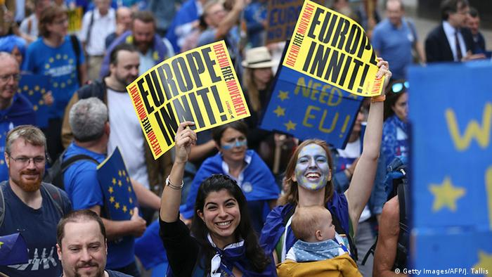 March for Europe in London