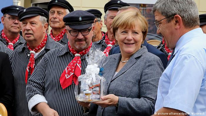 Deutschland Merkel in Bad Doberan