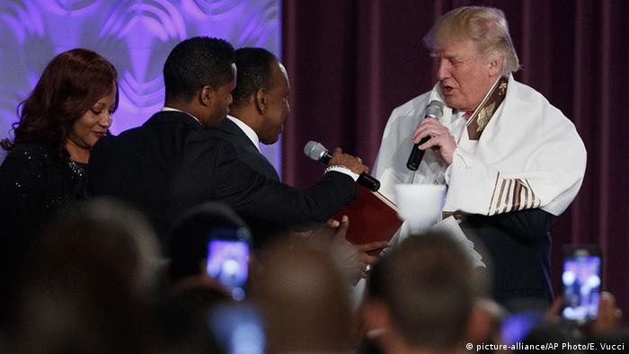 USA Donald Trump in Detroit