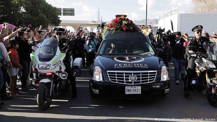Mexiko Beerdigung von Juan Gabriel