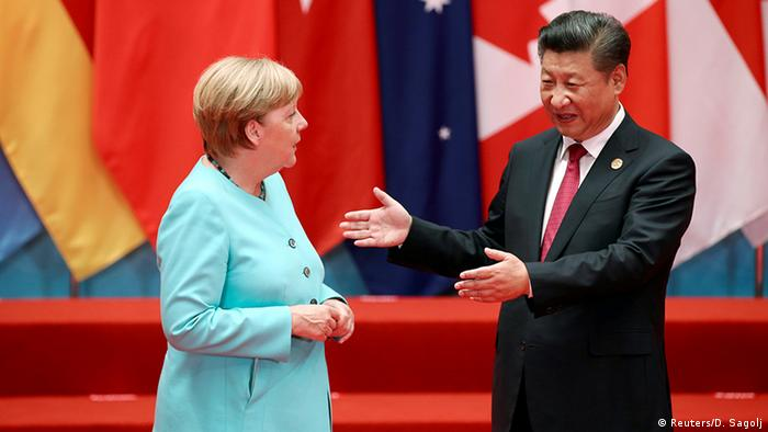 China G20 Gipfel in Hangzhou - Merkel & Jinping