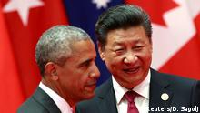 China G20 Gipfel in Hangzhou - Obama & Jinping