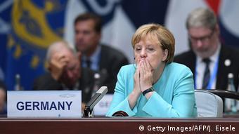 China G20 Gipfel in Hangzhou - Angela Merkel