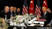 China G20 Gipfel in Hangzhou - Obama und Erdogan