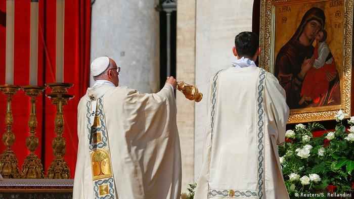Vatikanstaat Heiligsprechung Mutter Teresa durch Papst Franziskus