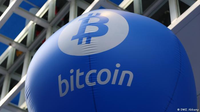 Deutschland Hannover CeBIT - Bitcoin Ballon