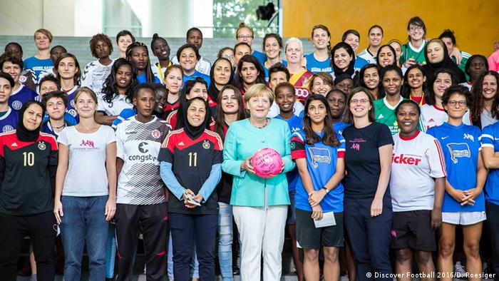 Berlin Discover Football'Womans Football Festival