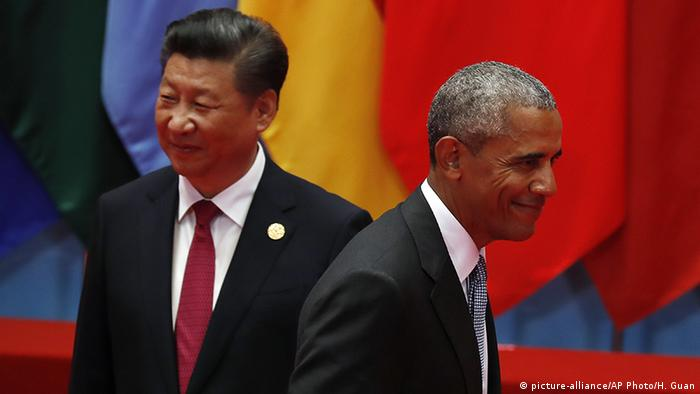 China G20 Gipfel in Hangzhou Obama und Jinping (picture-alliance/AP Photo/H. Guan)