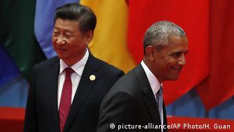 China G20 Gipfel in Hangzhou Obama und Jinping (picture-alliance/AP Photo/H. Guan)