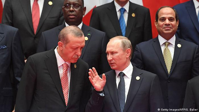 China G20 Gipfel in Hangzhou - Erdogan & Putin