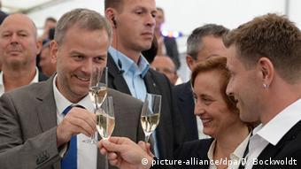 Deutschland Landtagswahl Mecklenburg-Vorpommern Holm, Storch, Fernandez AfD