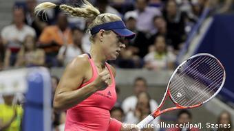 US Open Tennis Angelique Kerber (c) picture-alliance/dpa/J. Szenes
