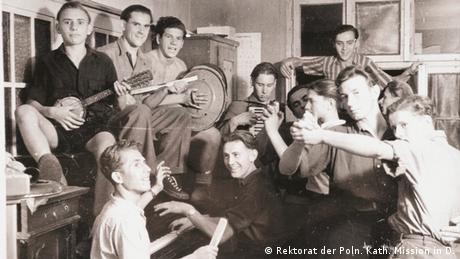 Freizeitmusiker im DPs Internat in Haltern (Rektorat der Poln. Kath. Mission in D.)