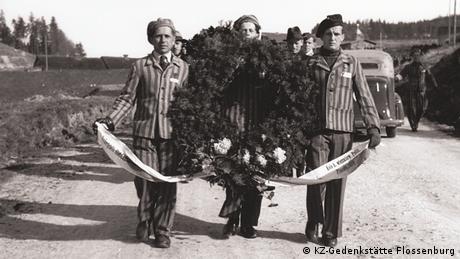Einweihung des Ehrenfriedhofs Flossenburg 1946 (KZ-Gedenkstätte Flossenburg)