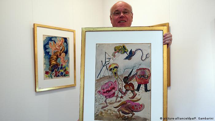 New paintings by Dix on display in Düsseldorf Copyright: Federico Gambarini/dpa