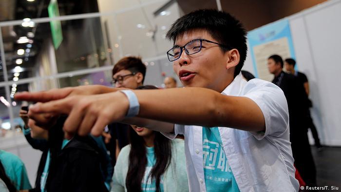 Hongkong Wahlen Joshua Wong (Reuters/T. Siu)