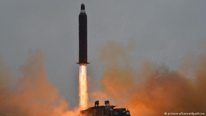 Nordkorea Raketenstart