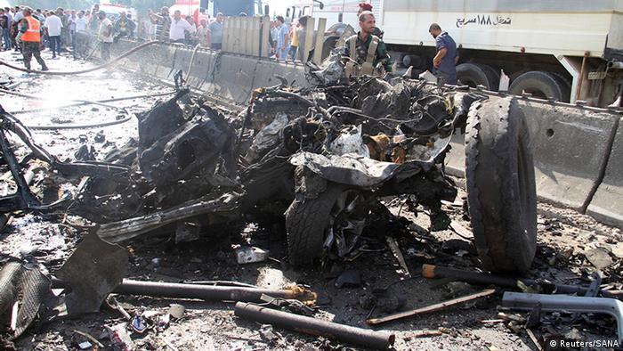 Syrien Anschlag in Tartus