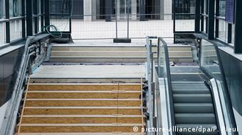 Εικόνες εγκατάλειψης στο αεροδρόμιο του Βερολίνου