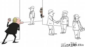 Karikatur von unserem Karikaturisten Sergey Elkin