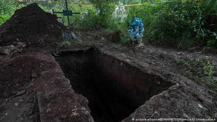 Mexiko Massengräber im Bundesstaat Veracruz entdeckt (picture-alliance/ZUMAPRESS/Agencia El Universaljma)