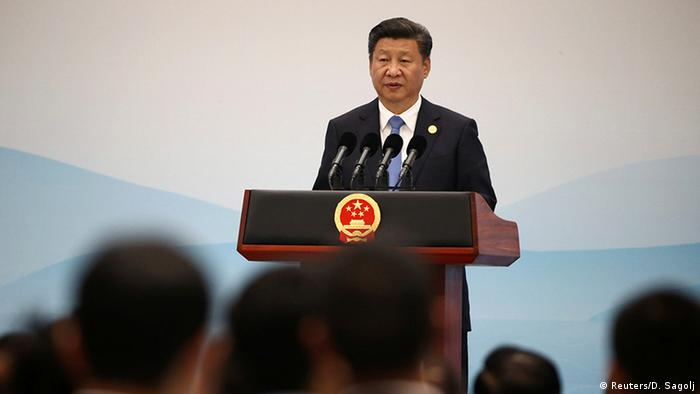 China G20 Gipfel in Hangzhou Rede von Präsident Xi Jinping (Reuters/D. Sagolj)