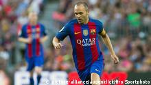 Spanien Barcelona Andres Iniesta