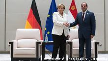 China G20 Gipfel in Hangzhou - Merkel & al-Sisi