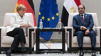 China G20 Gipfel in Hangzhou - Merkel & al-Sisi