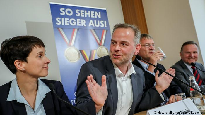 AfD press conference, Berlin